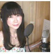 female Japanese voice actor in Japan
